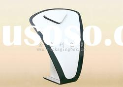 2012 Spring white plastic necklace stand