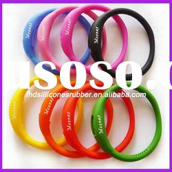 3ATM colorful healthy silicone cheap watch bands