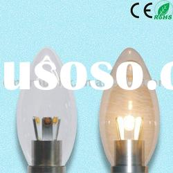 3 W Clear Dimmable E14 LED Candle Lamp
