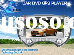 6.2 inch car audio player with 3D user interface(like iphone4) for NISSAN March