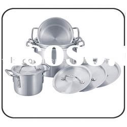 Aluminum Non-Stick Soup Pot With Competitive Price(sand polished)