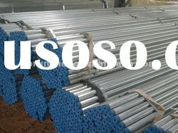 BS1387galvanized seamless carbon steel pipe