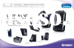 CAPDASE leather case for Sony Ericsson Cyber-shot C905