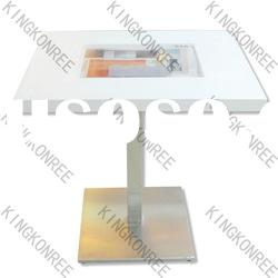 Customized design acrylic solid surface dining table top