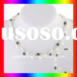 Fashion & Costume Pearl Jewelry Sets JS001