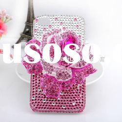 Fashion Design crystal cover for iPhone 4 , diamond case