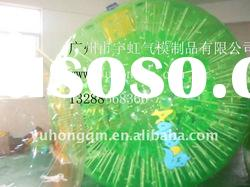 Green shining zorb balls, zorbing ball,waterball,grass zorb ball