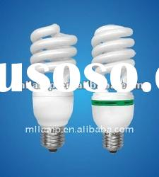 Half-spiral energy saving CFL