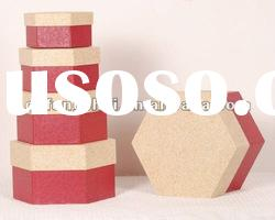 ISO9001 color printed craft gift paper box