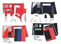 New A4 pu leather conference folder