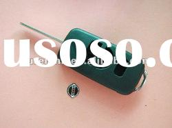 Nissan Tiida car modified flip remote key shell no replacement rubber pad