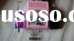 Pink electric nail drill manicure drills machine
