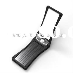 Portable and Foldable Solar Charger with LED Light for Ipone