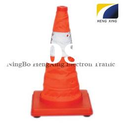 Reflective Traffic cone(Reflective Material:Reflective cloth was certificated by CE) HX-TC104A