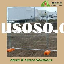 Security metal welded wire mesh fence panel (manufacture)