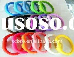 Silicon colorful cheap watch/ high quality ,low price