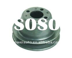 Steel V-belt pulley for auto water pump