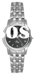 T-CLASSIC T97.1.181.52 Black Dial Water Resistant QUARTZ LADIES WATCH Stainless steel
