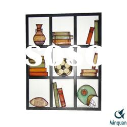 Wall Art - Library Metal Wall Plaque