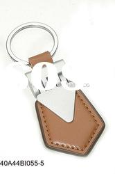 Wholesale factory direct leather metal key ring Leather keyring(40A44BI055-5)
