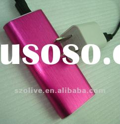 Wiredrawing paint shell external battery charger case for iphone 4