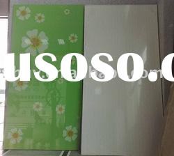 Wood grain high gloss mdf board for kitchen cabinet doors
