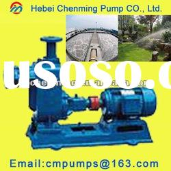 ZW Papermaking Self-suction Non-clogging Sewage Pump