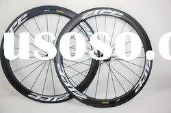 Zipp 404 50mm full carbon clincher wheels, carbon rim