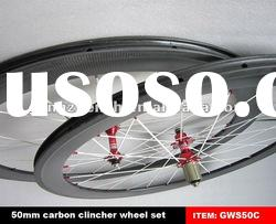 carbon cycle road bike wheels 50mm clincher accept sample order
