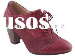 fashion casual lady high heel casual shoes