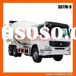 high-efficient DSTM-9 Concrete Mixer Truck featured product of DASION