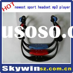 new hot sport headset mp3 player
