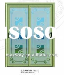 popular luxury aluminum sliding door design with good quality