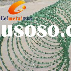 razor wire fence/PVC Coated Razor Barbed Wire/Razor Barbed Wire/Razor Wire/Barbed Wire