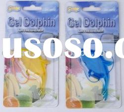 scented hanging gel dolphin Air Freshener SK-6012