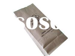 take away kraft food paper bag