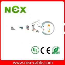 twisted pairs Cat6 network connection cable FTP