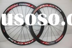wholesale,free shipping Fulcrum carbon Wheelset T-50 Tubular 3K weave wheels 50mm