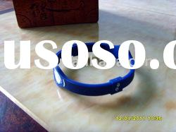 100% Silicone Negative Ion Rubber Sport Bracelet