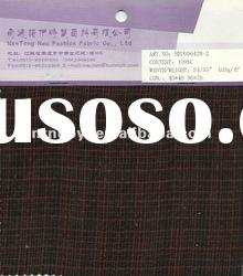 100%cotton yarn dyed double layer fabric