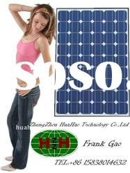 2011 high efficiency portable 100 watt solar panel price for home use(CE,TUV,ROHS)