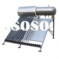 2012 CE approved compact pressurized solar hot water heater