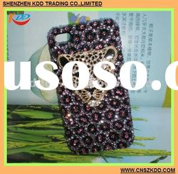 2012 Fashion design For iPhone 4S Crystal Case