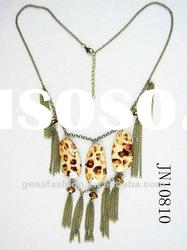 2012 Latest Fashion Jewelry Charm Necklace with Tassels