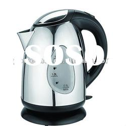 2012 New Design Stainless Steel Electric Kettle with Big Water Window