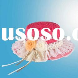 2012 Promotional Ladies Decoration Cheap Straw Hats