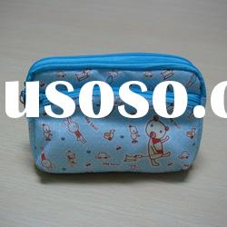 2012 hot sale designer high quality fashion nylon cosmetic bag