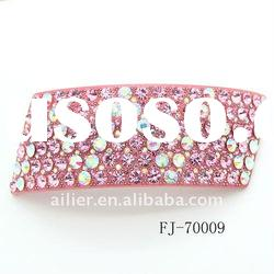 2012 hot sales fashion acrylic hair accessories for barrettes