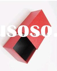 2012 hot sell modern custom chinese red paper drawer shoe box