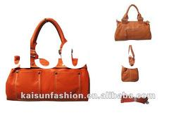 2012 new fashion hot sale pu leather korean fashion handbags the most beautiful handbags with rivets